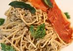 French in a Flash: Multigrain Spaghetti with Pistou Forestier Recipe