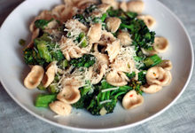 Dinner Tonight: Orecchiette with Broccoli, Anchovies, and Chiles Recipe