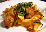 Dinner Tonight: Baked Rigatoni with Italian Sausage and Broccoli Rabe Recipe