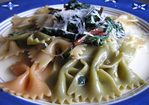 Dinner Tonight: Farfalle with Swiss Chard Recipe