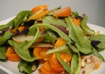 Cook the Book: Asian Pear, Persimmon, and Almond Salad Recipe