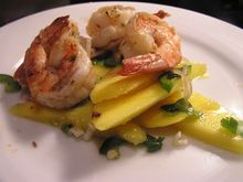 Dinner Tonight: Grilled Shrimp and Mango Salad Recipe