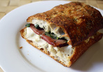 Dinner Tonight: Warm Fig, Mozzarella, and Prosciutto Sandwich Recipe