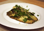 Dinner Tonight: Ginger and Cilantro Baked Tilapia Recipe