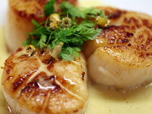 The Secret Ingredient (Chamomile): Seared Sea Scallops with Chamomile Beurre Blanc Recipe