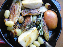Cook the Book: Endives, Apples, and Grapes Recipe