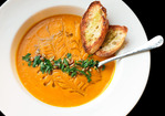 Vegan: Roasted Squash and Raw Carrot Soup Recipe