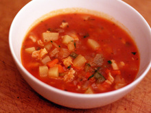 Dinner Tonight: Manhattan Clam Chowder Recipe
