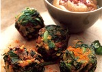 Cook the Book: Crunchy Red Swiss Chard Falafel  Recipe