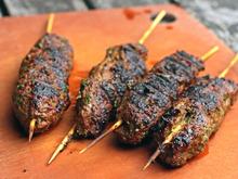Jeff Koehler's Moroccan Grilled Lamb Kefta Brochettes Recipe