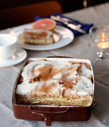 Recipe: Apple & Cinnamon Whole Grain Breakfast Strata Recipe