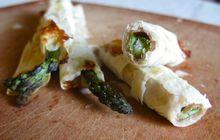 Recipe: Asparagus Spears Wrapped in Prosciutto & Phyllo Recipe