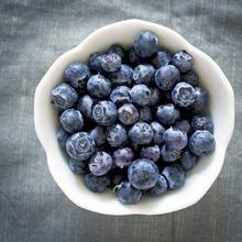 Blueberry Buckwheat Pancakes from Megan of Not Martha Recipe