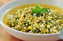 Summer Recipe: Corn and Zucchini Salad with Chives  Recipes from The Kitchn Recipe