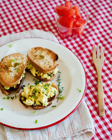 Vegan Recipe: Lemony Eggless Egg Salad  Recipes from The Kitchn Recipe