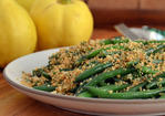 Recipe: Lemony Green Beans With Almond Breadcrumbs Recipe