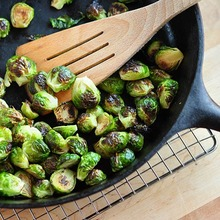 Quick Side Dish Recipe: Roasted Brussels Sprouts Recipe