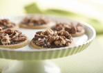 Salty Sweet: Toffee Cookies with Dark Chocolate Glaze Recipe