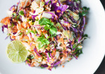 Recipe: Tri-Color Slaw with Lime Dressing Recipes from The Kitchn Recipe