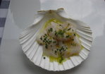 Scallop Crudo with Citrus, Mint and Sea Salt Recipe