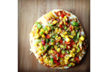 Mango Chaat Pizza Recipe