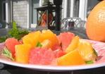 Citrus mint salad Recipe