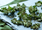 Roasted Kale Chips with Parmigiano-Reggiano Recipe