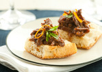 Cranberry-Orange Braised Beef on Ciabatta Recipe