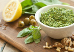 Basil-Spinach Pesto Recipe