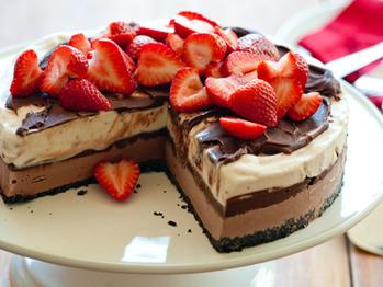Chocolate Strawberry Ice Cream Cake Recipe From Whole Foods Market