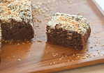 Banana-Cocoa Snack Cake Recipe