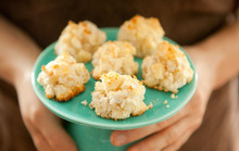 Pineapple White Chocolate Chunk Macaroons Recipe