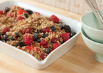 Raw Berry Crisp Recipe