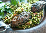 Lebanese-Style Grass-Fed Ground Beef Kebabs Recipe