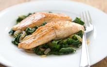 Salmon with Sautéed Swiss Chard Recipe