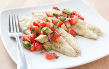 Grilled Red Snapper with Strawberry and Avocado Salsa Recipe