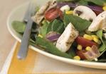 Spring Spinach Salad with Chicken Recipe