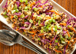 Miso-Ginger Wild Rice with Carrots and Cabbage Recipe