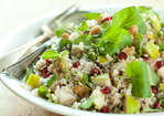 Quinoa with Watercress, Pears and Pomegranates Recipe
