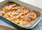Butternut Squash Gratin with Le Gruyère Recipe