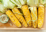 Corn on the Cob with Feta and Herbs Recipe