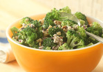 Broccoli Salad with Walnuts and Currants Recipe