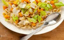 Butternut Squash with Celery Leaves and Orecchiette Recipe