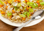 Butternut Squash with Celery Leaves and Orecchiette Recipe
