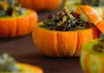 Wild Rice Stuffed Mini Pumpkins Recipe