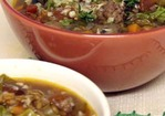Rustic Farro Soup with Sausage and Mushrooms Recipe