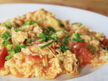Chinese Stir-fried Eggs and Tomatoes Recipe