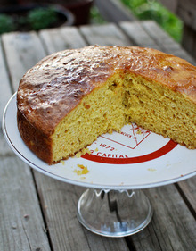 Orange-Scented Olive Oil Cake from Saveur Recipe
