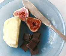 Simple Elegance: Cheese and Chocolate for Desssert Recipe