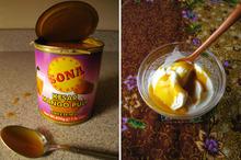 Try This! Indian Mango Puree Over Vanilla Ice Cream Recipe